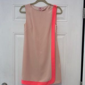 Ted Baker pink double layer dress